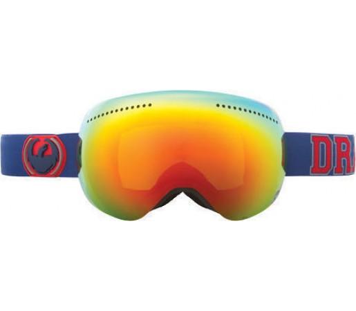 Ochelari Ski DRAGON APX TeamSpirit Red Ionized / Yellow-BlueIonized