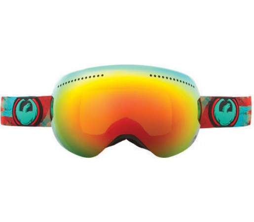 Ochelari Ski DRAGON APX WaterColor Red Ionized / Yellow-BlueIonized