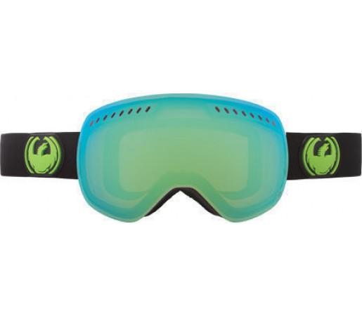Ochelari Ski DRAGON APXS Jet Green Ionized / Yellow-BlueIonized