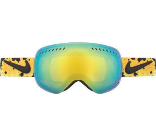 Ochelari Ski DRAGON APXS Nike Splatter Collab Gold Ionized / YellowBlueIonized