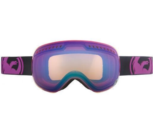 Ochelari schi si snowboard DRAGON APXS Pop Purple / Blue Ionized