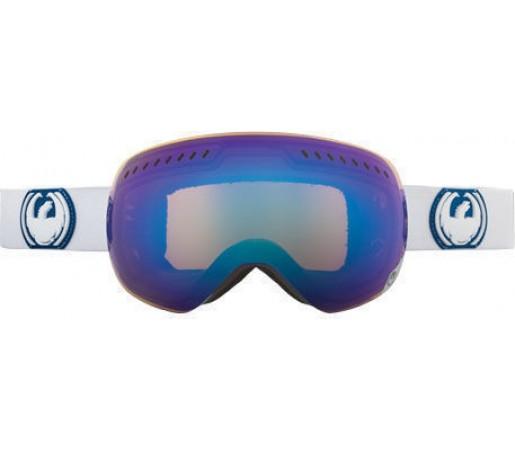 Ochelari Ski DRAGON APXS White Blue Steel / Yellow-BlueIonized