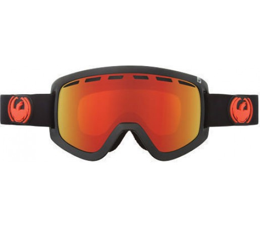 Ochelari Ski DRAGON D1 Jet Red Ionized / YellowBlueIonized