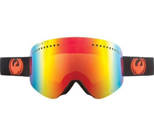 Ochelari Ski DRAGON NFX Jet Red Ionized / Yellow-BlueIonized