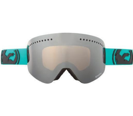 Ochelari Ski DRAGON NFX POP Teal Jet Ionized / Amber