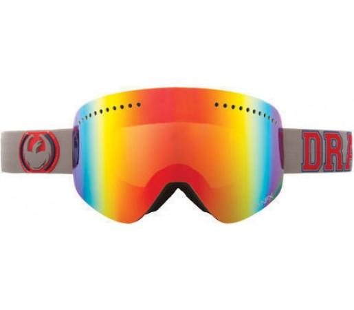 Ochelari Schi si Snowboard DRAGON NFX Team Spirit Red / Ionized + Yellow Blue Ionized