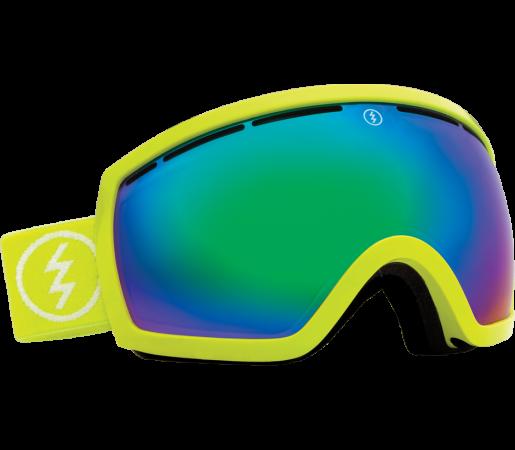 Ochelari Ski ELECTRIC EG2.5 Toxic Snot (Bronze/Green Chrome)