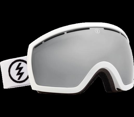 Ochelari Ski ELECTRIC EGB2 Gloss White Bronze/Silver Chrome