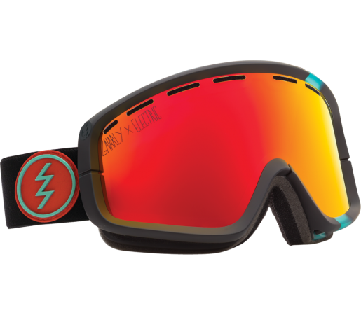 Ochelari Ski ELECTRIC EGB2 Gnarly Bronze/Red Chrome