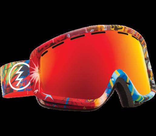 Ochelari Ski ELECTRIC EGB2 James Haunt Bronze/Red Chrome