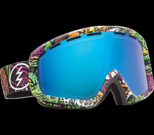 Ochelari Ski ELECTRIC EGB2 Jimbo Phillips Bronze/Blue Chrome