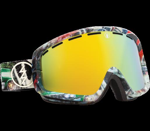 Ochelari Ski ELECTRIC EGB2 West Side Bronze/Gold Chrome