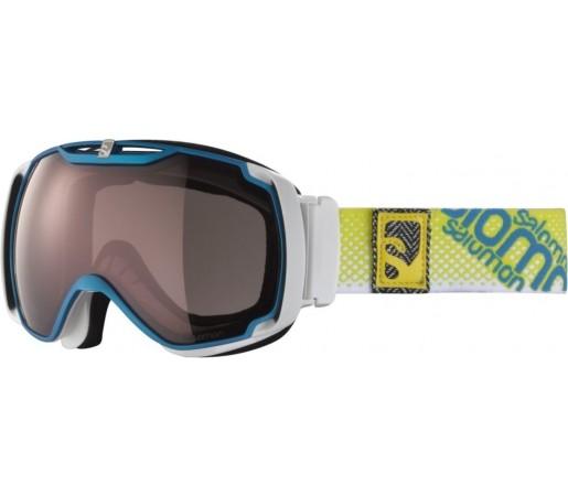 Ochelari ski Salomon X-TEND 10 UM Blue/Universal
