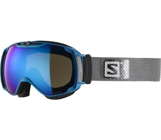 Ochelari ski Salomon X-TEND 12ML Blue/Solar
