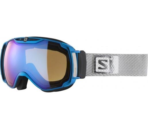 Ochelari ski Salomon X-TEND 12ML Blue/Lowlight