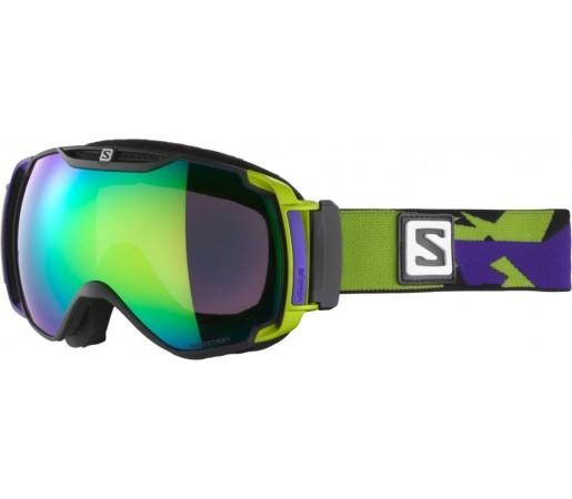 Ochelari ski Salomon X-TEND 12ML Green/Purple solar