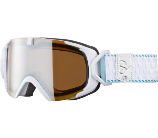 Ochelari ski Salomon X-VIEW10 SMALL M White/Universal
