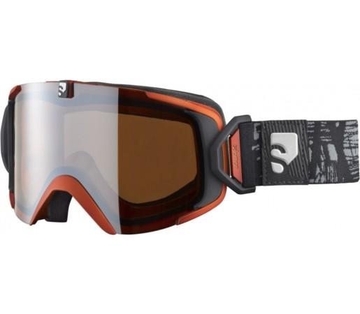 Ochelari ski Salomon X-VIEW 10 M Rust/Universal
