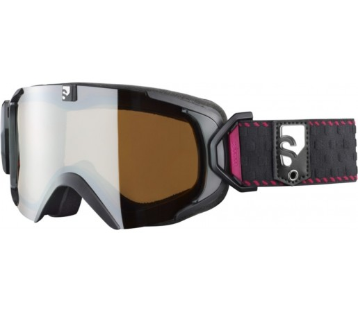 Ochelari ski Salomon X-VIEW 10 Small M Black/Universal
