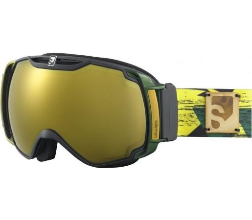 Ochelari Ski Salomon XTEND XPRO10 MS Yellow/Low Light