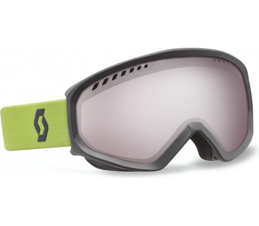 Ochelari Ski si Snowboard Scott Faze Lime green- Iron grey- Silver chrome