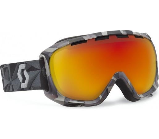 Ochelari Ski si Snowboard Scott Fix Graphicsplash Black/ Red Chrome