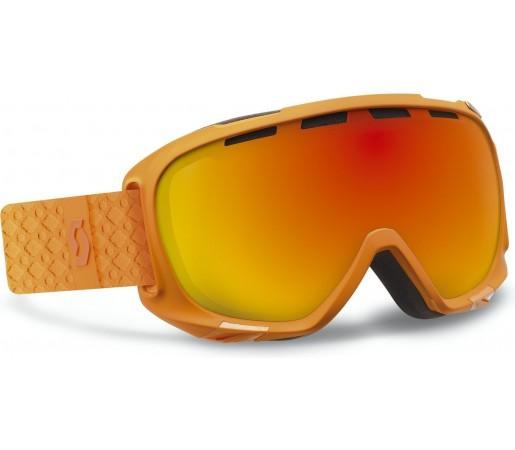 Ochelari Ski si Snowboard Scott Fix Orange Solid/ Red Chrome