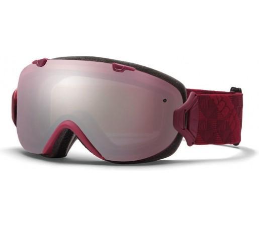 Ochelari Ski si Snowboard Smith I/OS Merlot Motif/ Ignitor