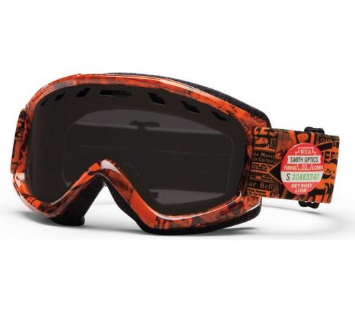 Ochelari Ski si Snowboard Smith Orange W3 / Black