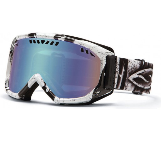Ochelari Ski si Snowboard Smith SCOPE Charcoal Batik/ Blue Sensor