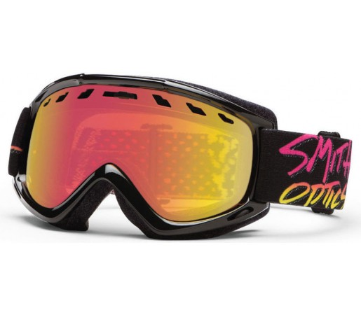 Ochelari Ski si Snowboard Smith Sentry Stay Rad / Red Sol-X