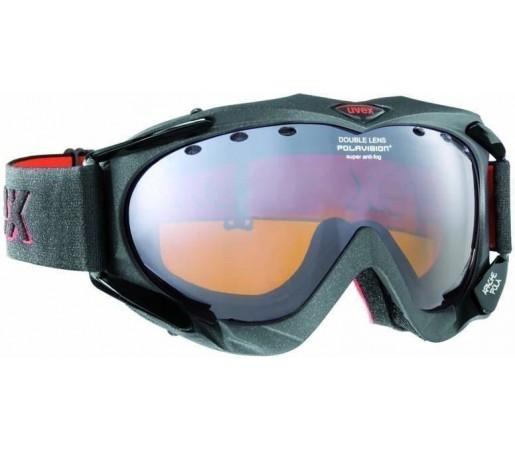 Ochelari Ski si Snowboard Uvex Apache Pola HD Grey