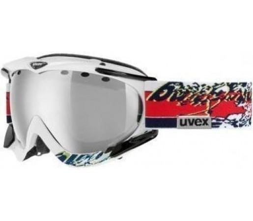 Ochelari Ski si Snowboard Uvex Apache Pro White- Red Graphic