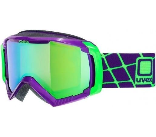Ochelari Ski si Snowboard Uvex GGL 100 Mauve- Green