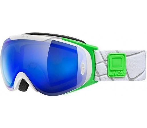 Ochelari Ski si Snowboard Uvex GGL 9 Recon Ready White- Green- Blue