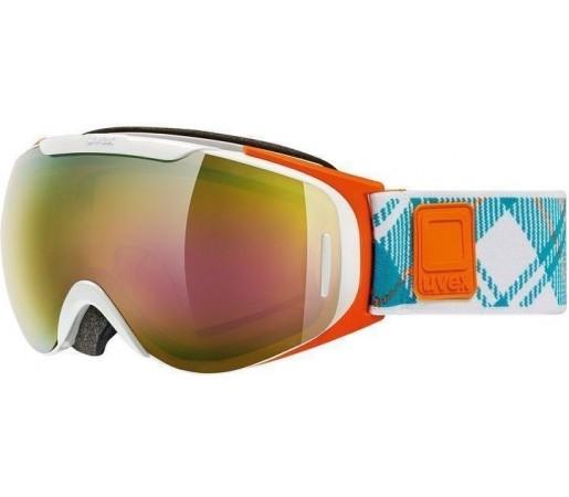 Ochelari Ski si Snowboard Uvex GGL 9 Recon Ready White- Orange- Blue