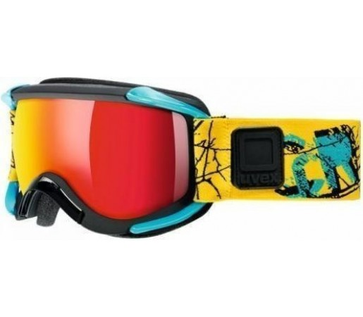Ochelari Ski si Snowboard Uvex GLL 5 Sioux Black-Blue