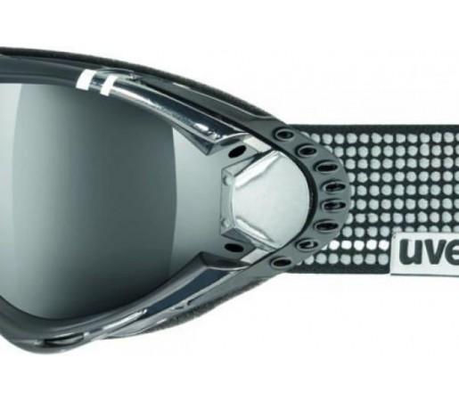Ochelari Ski si Snowboard Uvex Ultrasonic Pola HD Black- Grey
