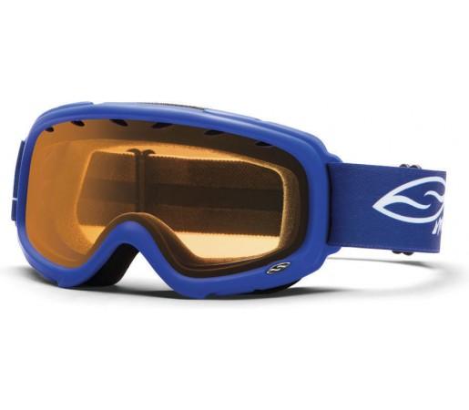 Ochelari Ski si Snowboard Smith Gambler jr. Blue/ Gold lens
