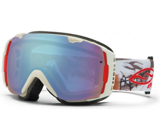 Ochelari Schi si Snowboard Smith I/O Bone Prospector/ Blue Sensor Mirror