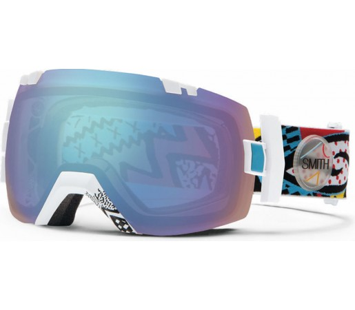 Ochelari Ski si Snowboard Smith I/OX White Carlton/ Sensor Mirror
