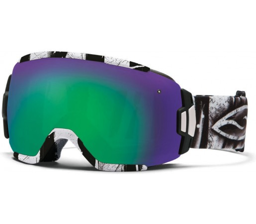 Ochelari Ski si Snowboard Smith VICE CHARCOAL BATIK Green
