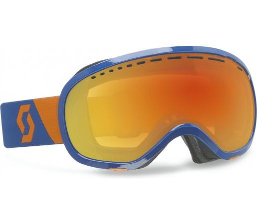 Ochelari Schi si Snowboard Scott Off-Grid Albastru/Rosu Chrome