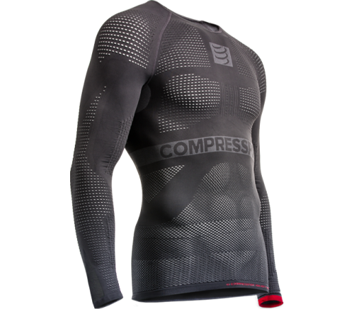 Bluza Compressport On/Off Multisport 1st Layer Long Sleeves Gri