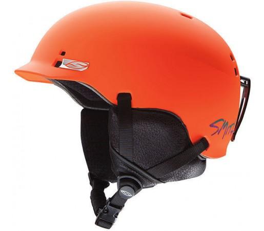 Casca Schi si Snowboard Smith Gage Orange Kook