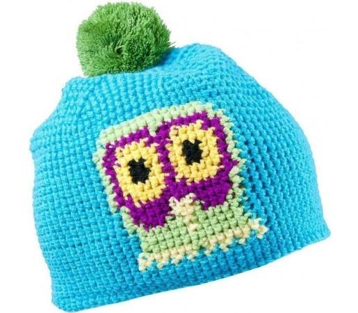 Caciula Kask Owl (Crochet Handmade) Blue 2013