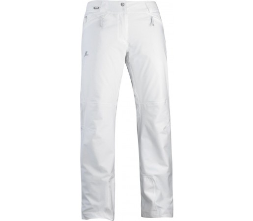 Pantalon Ski Salomon Brillant W White