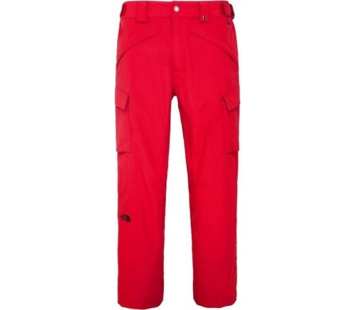 Pantaloni de Ski si Snowboard The North Face M Slasher Cargo Red