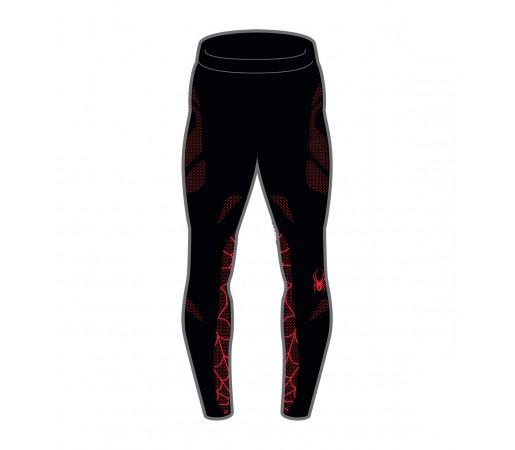 Pantaloni First Layer Spyder Boys Racer (Boxed) Negru/Rosu