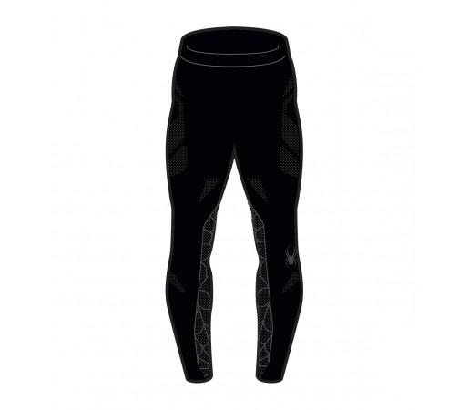Pantaloni First Layer Spyder Captain (Boxed) Negru/Gri